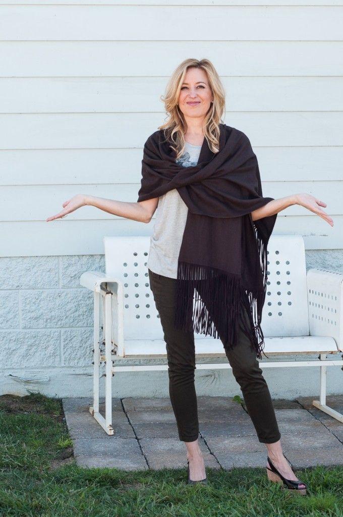 How To Wear A Pashmina | Fall fashion | Pashmina scarf ...