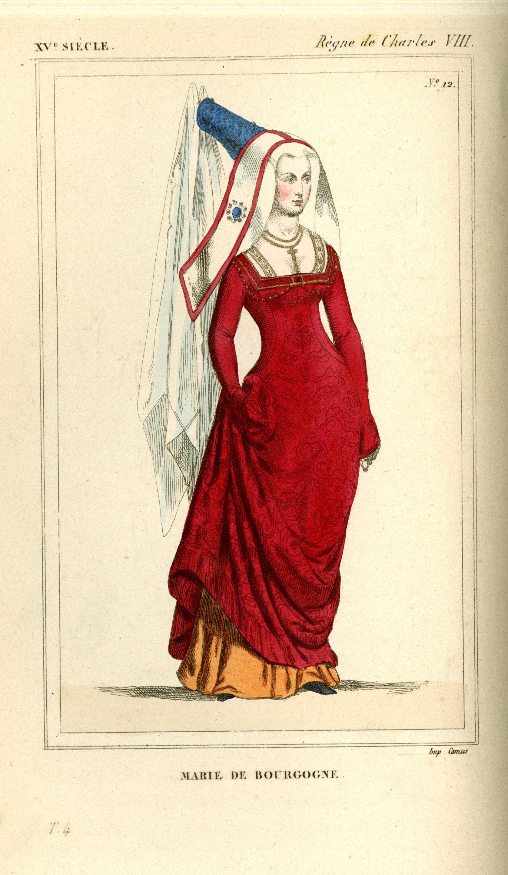 Costumes Historiques de la France, par le Bibliophile Jacob. 1852, vol. 4,  plate 12