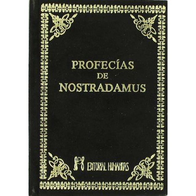Profecias De Nostradamus Tapa Dura Tapas Amantes De La Lectura Libros