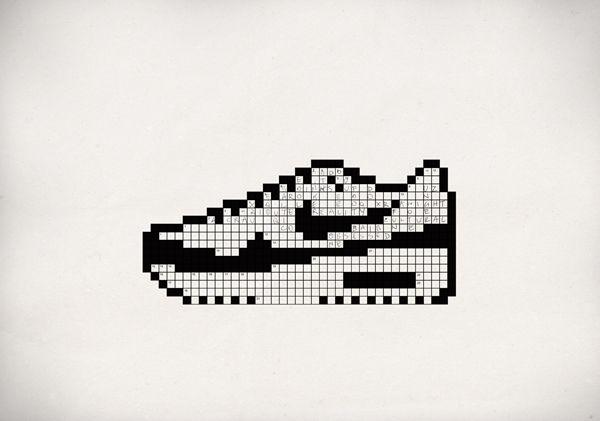 Nike Pixel Art X Stitch Dessin Pixel Pixel Art Et Pixel