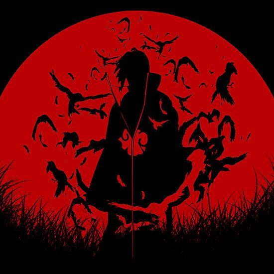 Red Moon Itachi By Epyongart Itachi Uchiha Itachi Uchiha