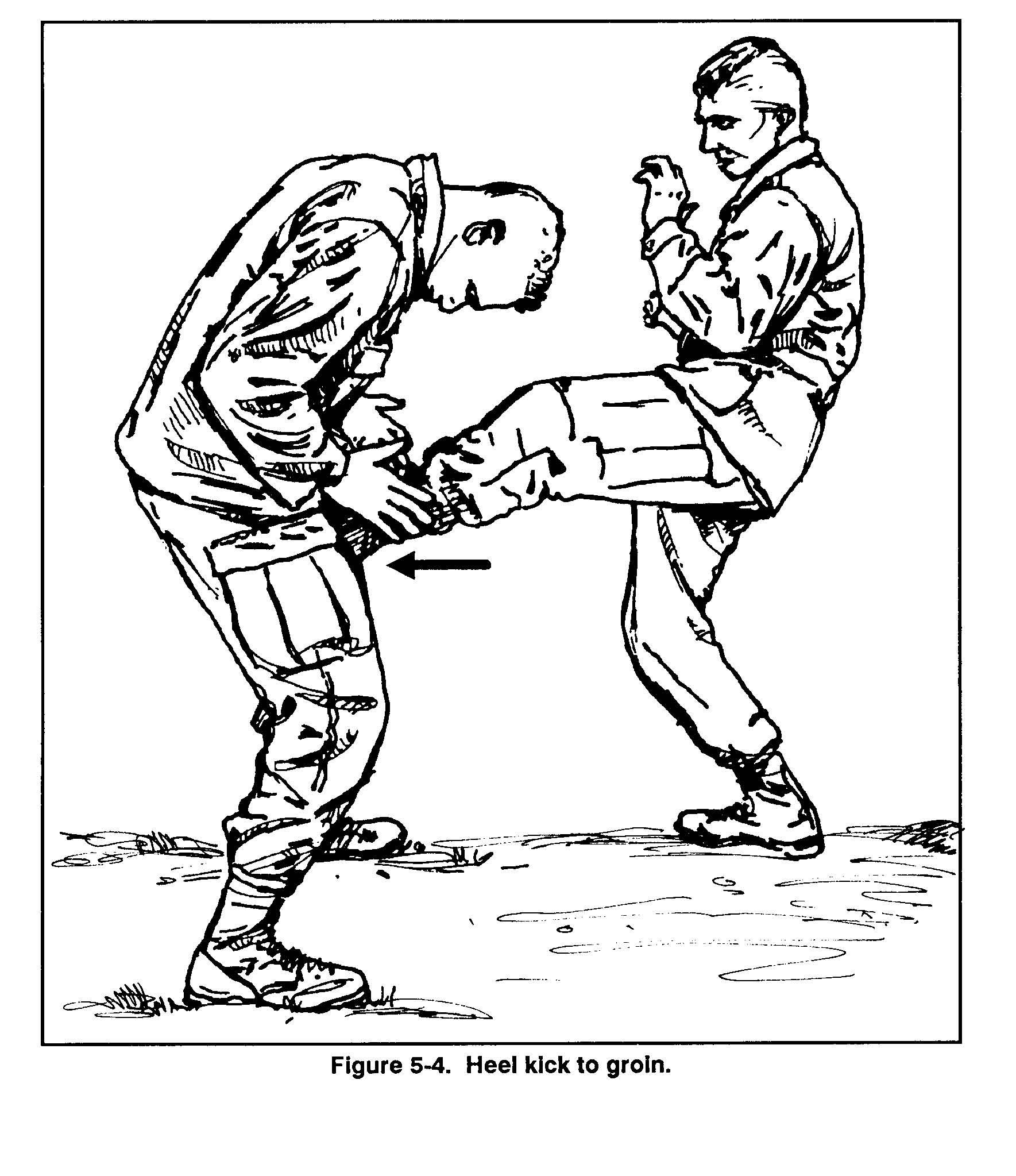Shin Kick. The shin kick is a powerful kick, and it is