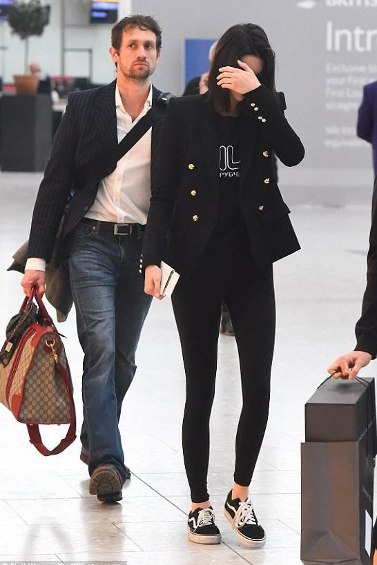 6b4d8e33a9a Kendall Jenner Heathrow Airport February 21