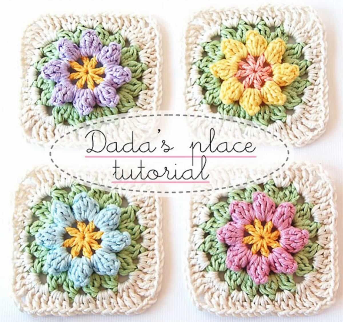 Primavera Crochet Square Pattern Free Ideas You\'ll Love   Tejido