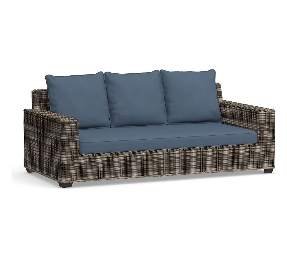 Torrey Square Arm Sunbrella Outdoor Furniture Cushion Slipcovers