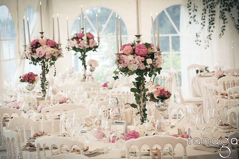 Kerzenstander Mit Blumen Google Suche Hochzeit
