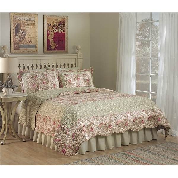 Ivy Hill Home Parisian Paisley Quilt Set - Full-Queen, Cotton ... : ivy hill quilts - Adamdwight.com