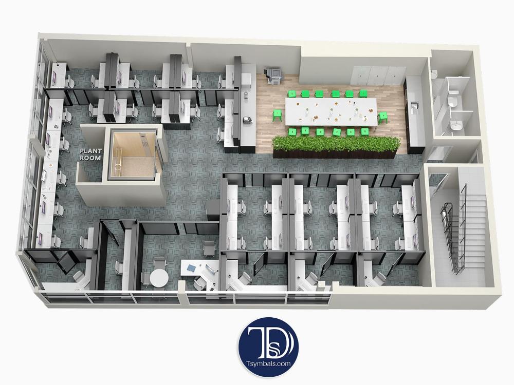 3D Floor Plans Renderings & Visualizations Rendered