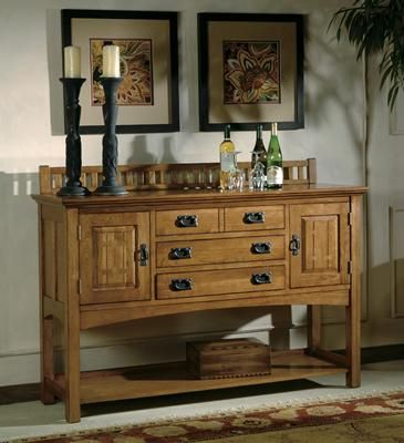 Hekman Arts and Crafts Sideboard - 8-4032