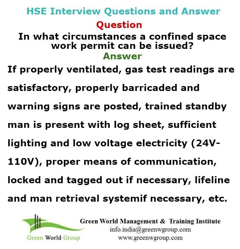 Safety Officer Interview Question  Answer GreenworldsaudiCom
