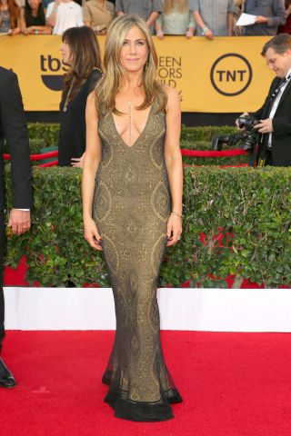 See all of the best SAG Award red carpet arrivals: Jennifer Aniston