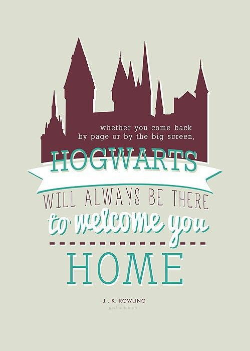 hogwarts is home harry potter universal harry potter series