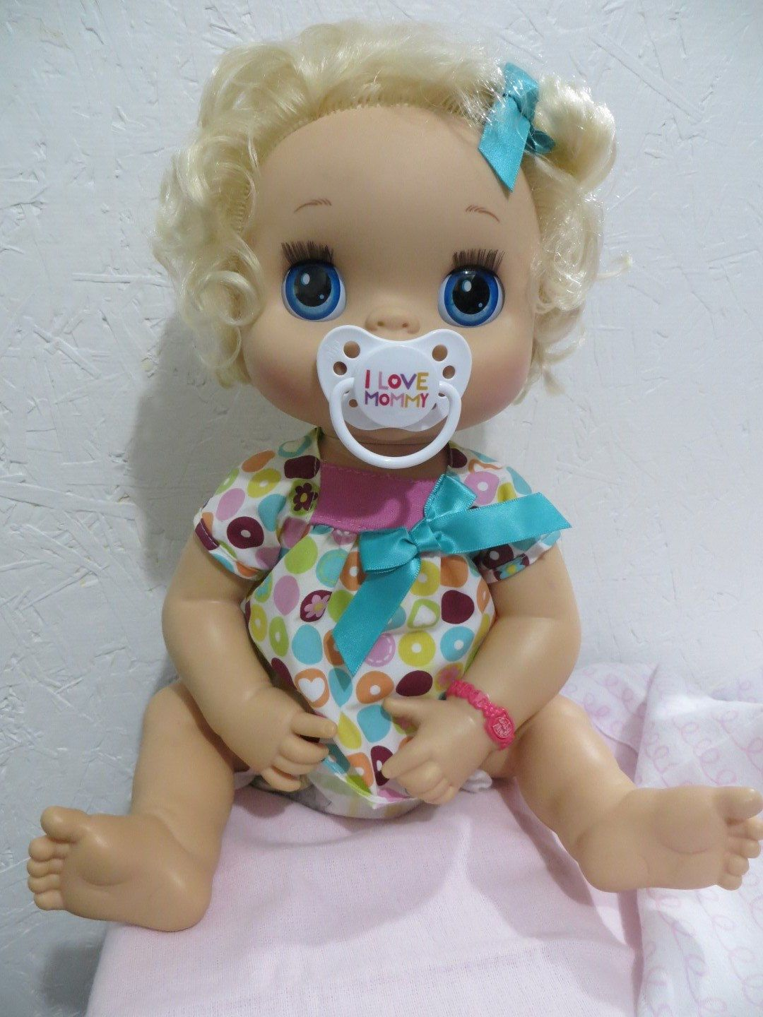 Baby Alive Pacifier For My Baby Alive 2010 Interactive Doll I Love Mommy Please Read Description By Reb Baby Alive Baby Alive Doll Clothes Baby Alive Dolls
