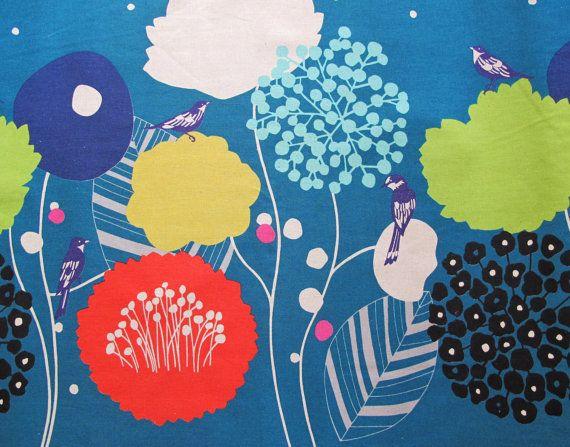 ♥ http://www.etsy.com/de/listing/113597326/new-fall-2012-echino-fabric-wildflower