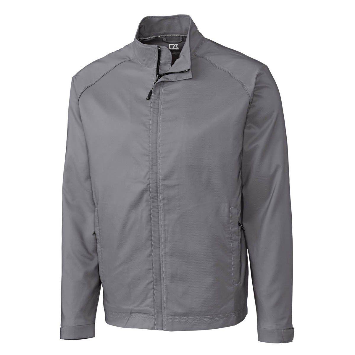 Cutter   Buck Men s Oxide WeatherTec Blakely Full Zip Jacket  31544a35b