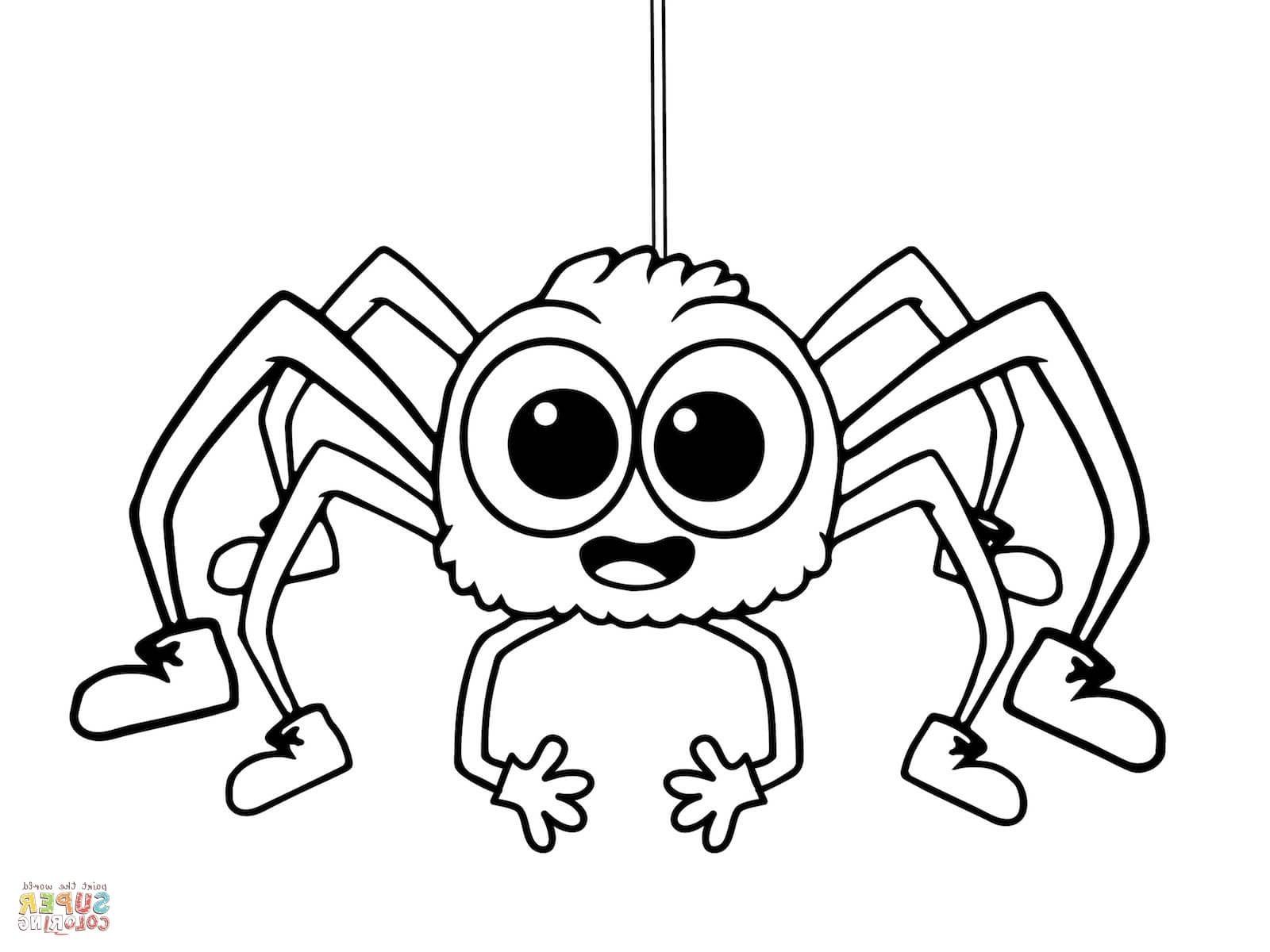 Coloring Download Coloring Pages Spider Page Colori on