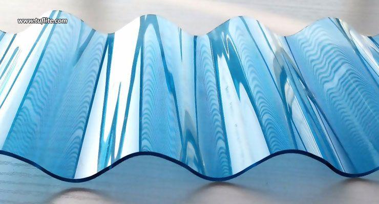 Polycarbonate Or Glass Reinforced Plastics Tuflite Plastic Roofing Corrugated Plastic Roofing Corrugated Plastic