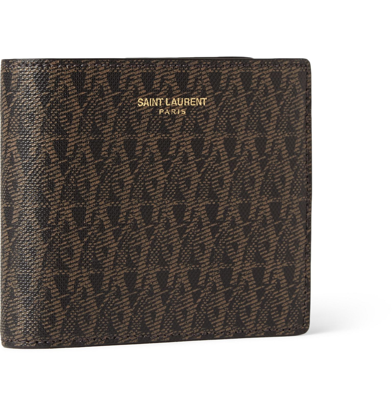 f7522ba1f8 This Saint Laurent wallet is monogrammed with the iconic 'YSL ...