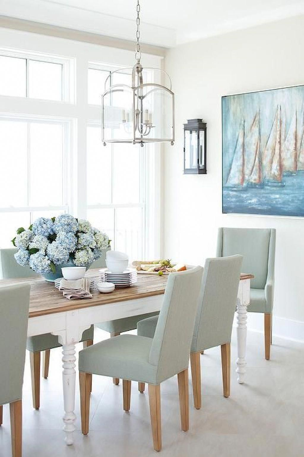Gorgeous cottage dining room designs with everlasting style