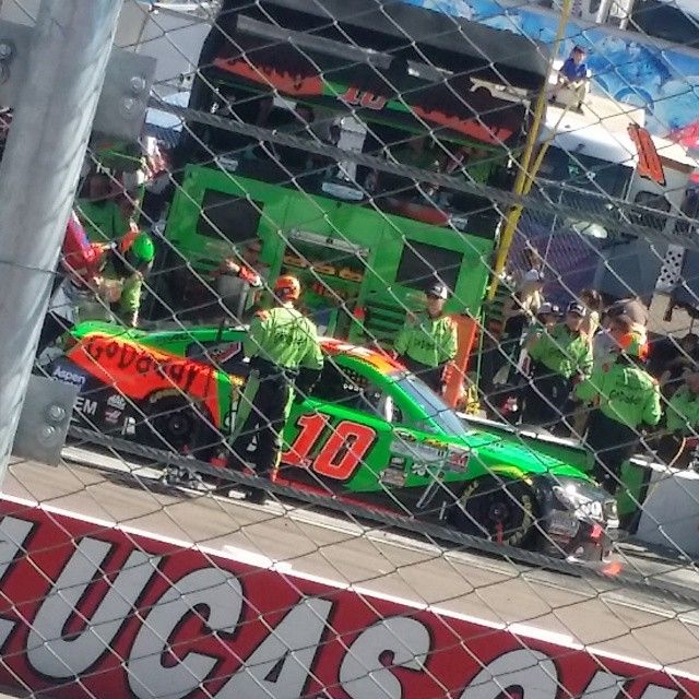 """Annnd my girl #DanicaPatrick of course! #NASCAR #PIR #phoenix #likeaboss"""