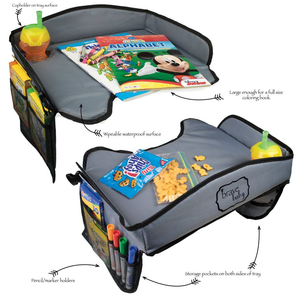Kids Portable Travel Tray for Car, Airplane, Stroller