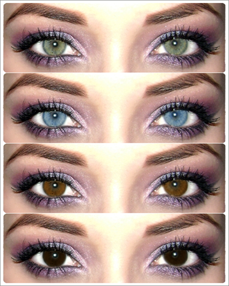Same Make Up. Different Eye Color. My Natural Eye Is Like