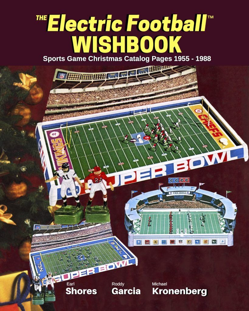 the all new electric football wishbook is the first ever compilation of electric football and sports game christmas catalog pages available now - Football Games On Christmas