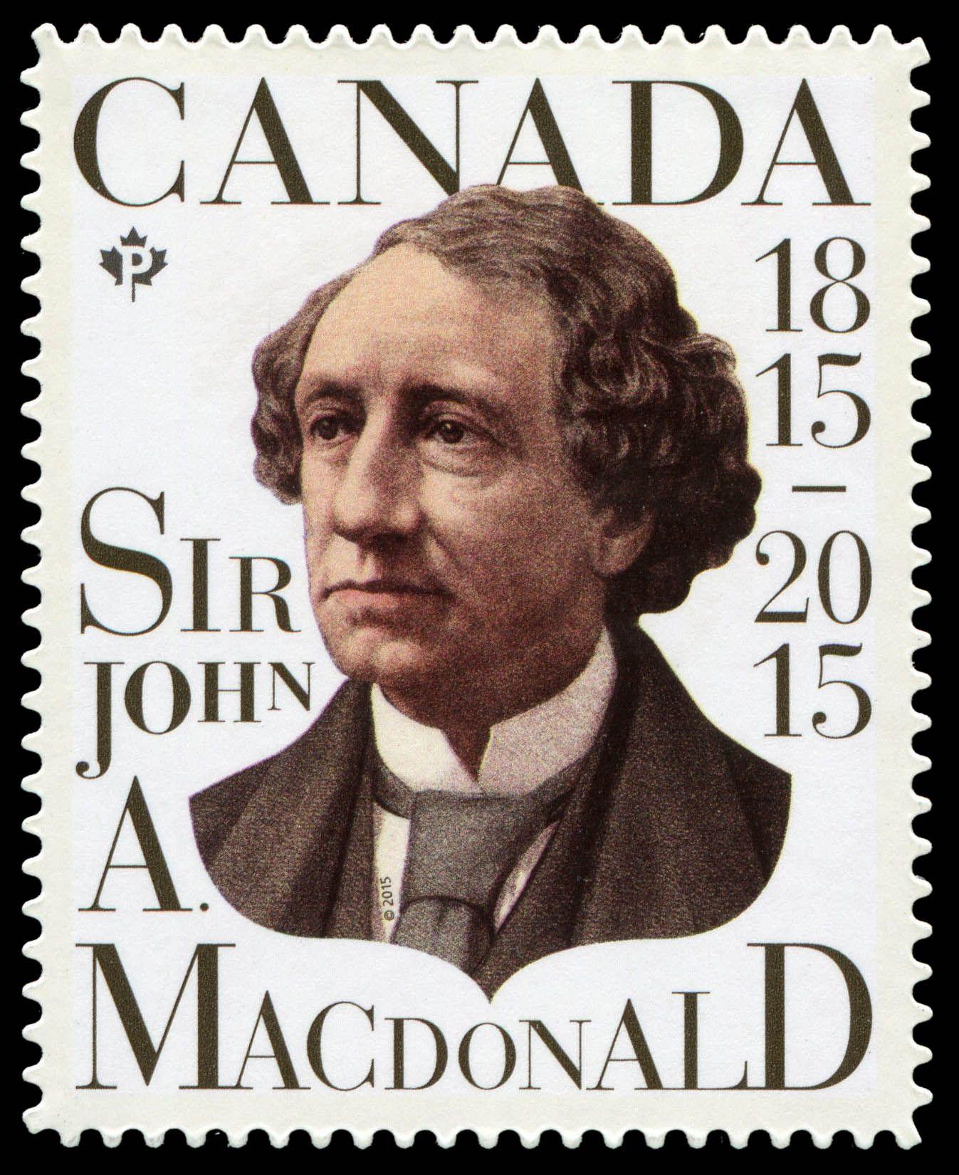 Sir John A. Macdonald - Canada Postage Stamp