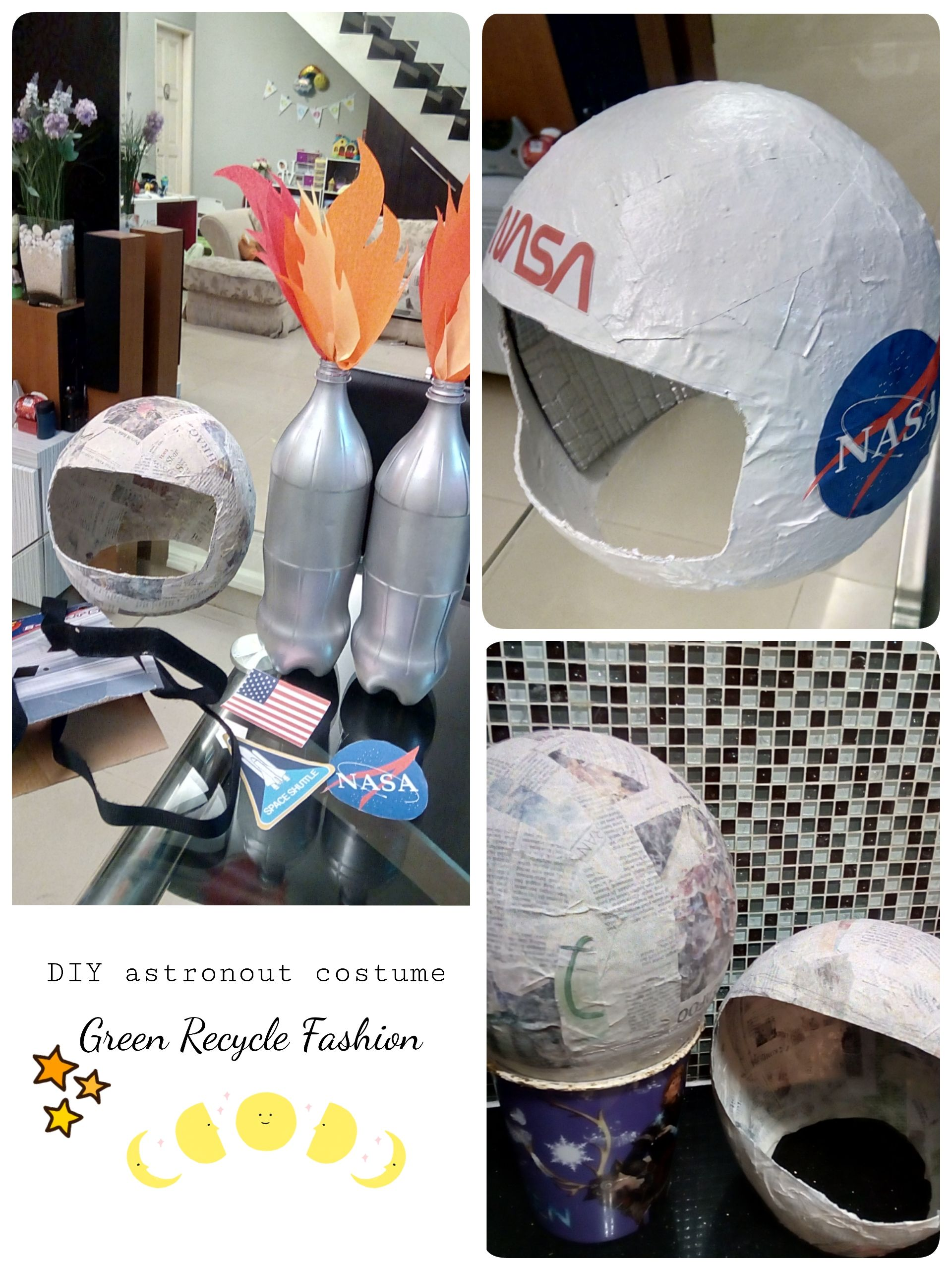 rocket astronaut costume for kid space helmet blast off