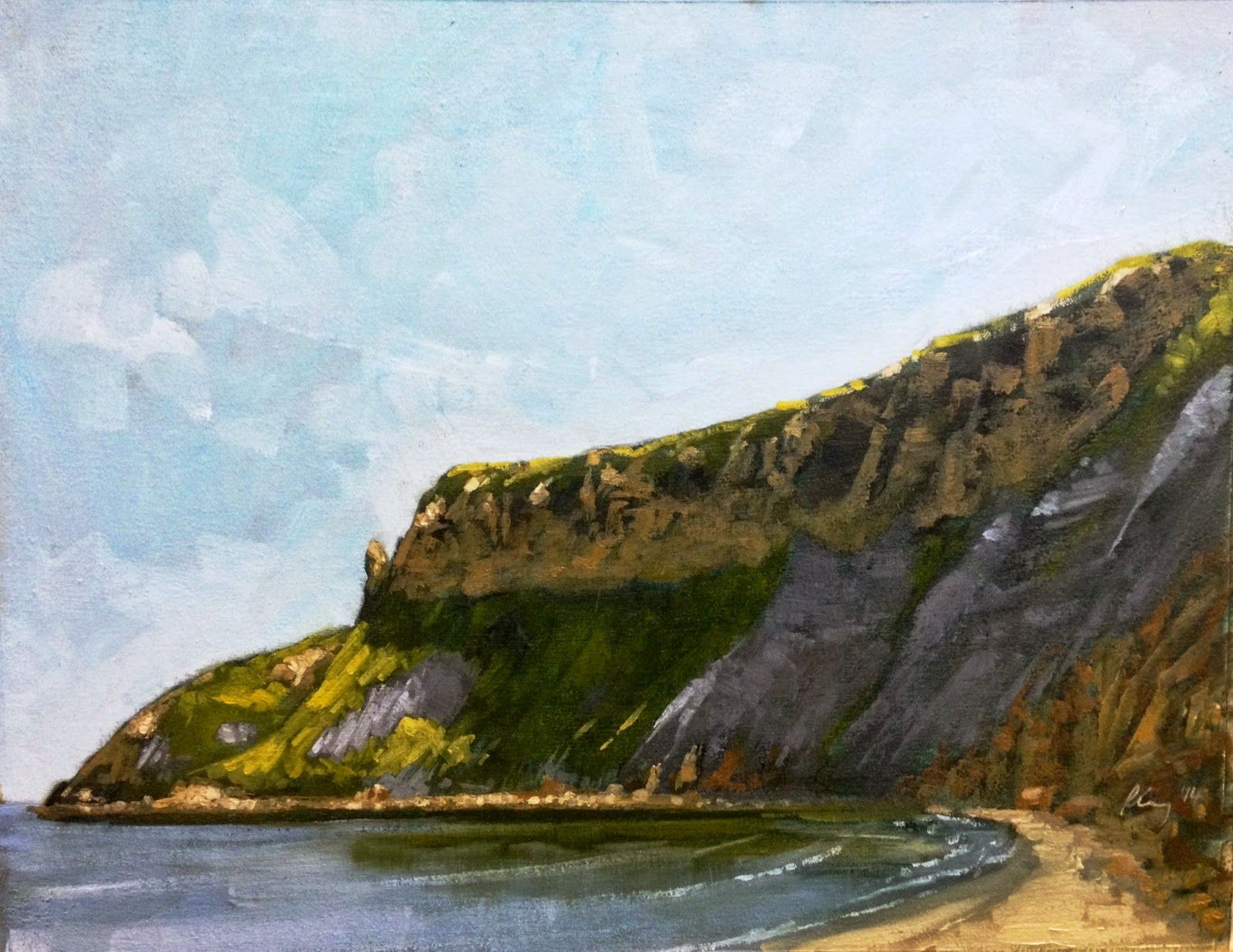 Richard Gray's Paintings: Cayton Bay