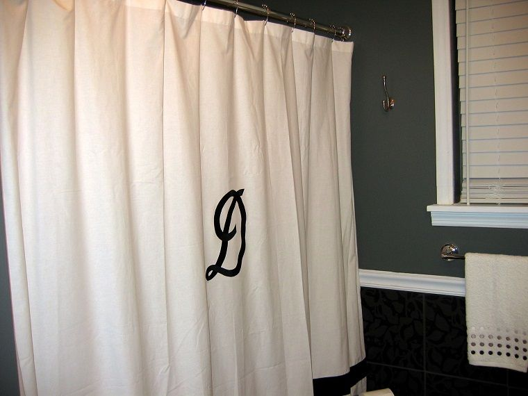 Tende Bagno ~ Tende per bagno bianche iniziale tende bagno