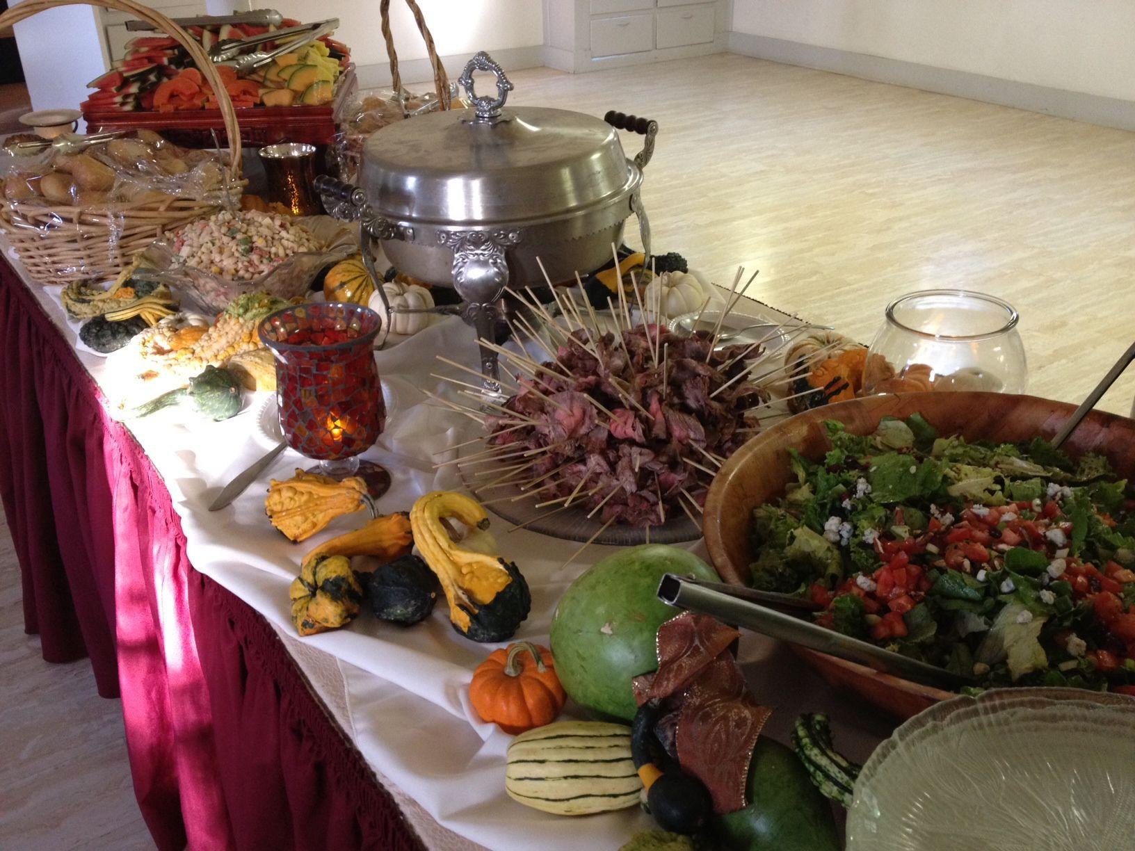 Fall Buffet Menu For October #wedding #reception. Www