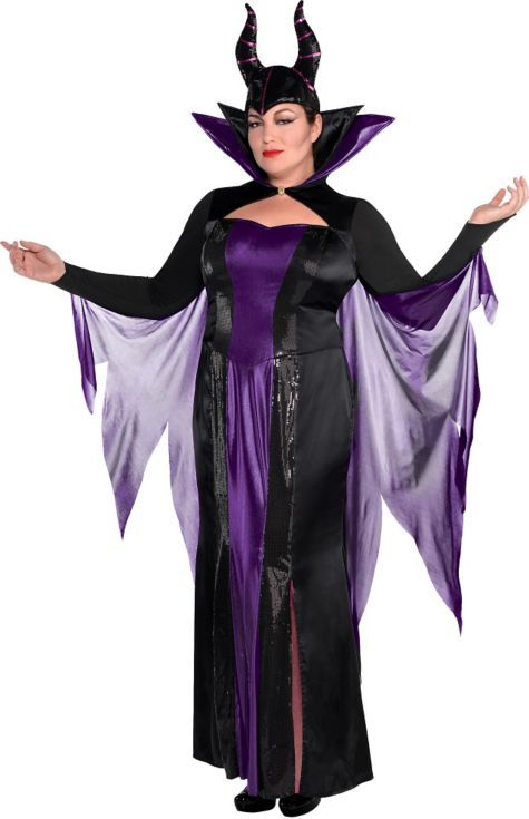 adult maleficent costume couture plus size - sleeping beauty
