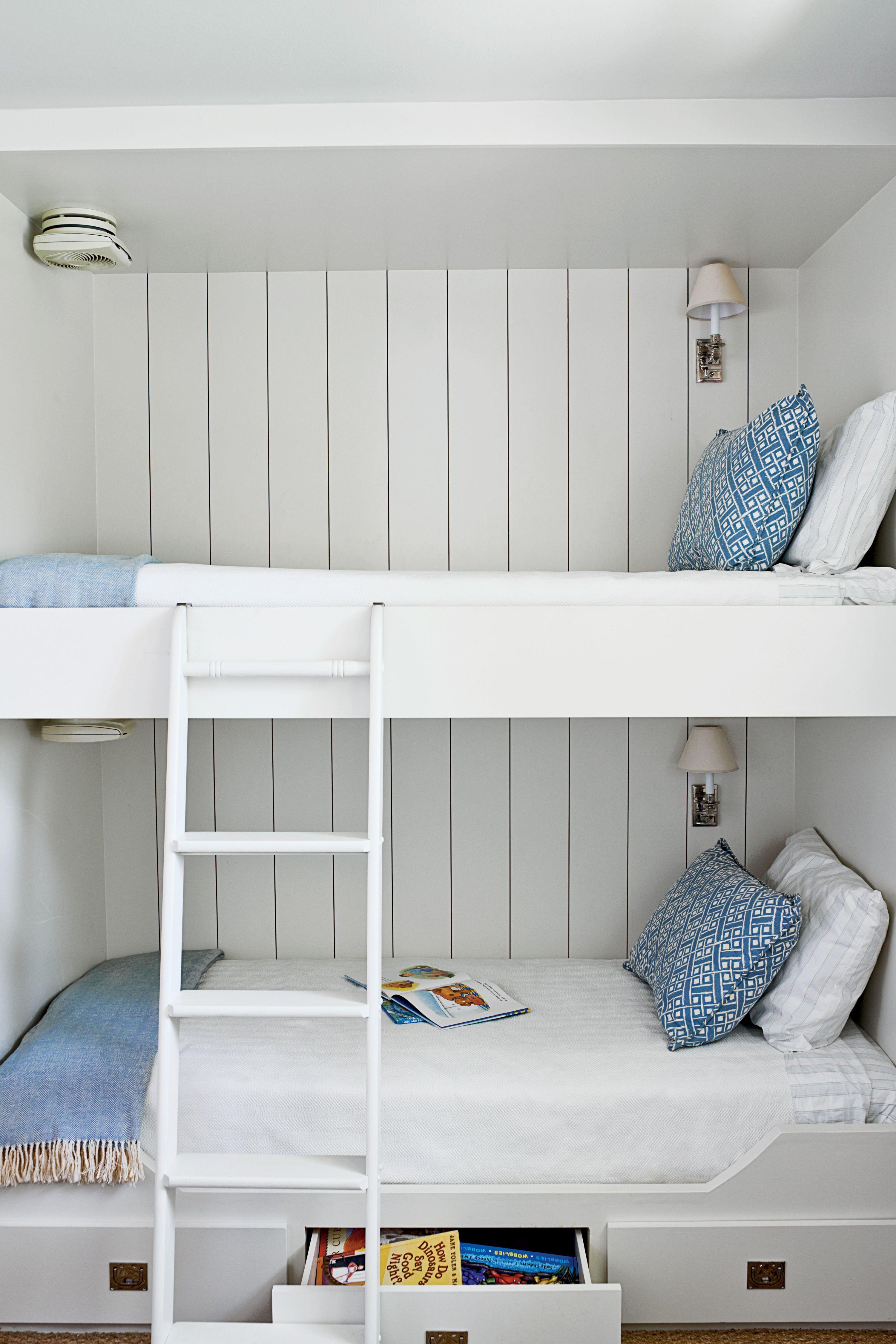 20 Fabulous Beach House Bunk Rooms Bunk Beds Built In Cool Bunk Beds Bunk Beds