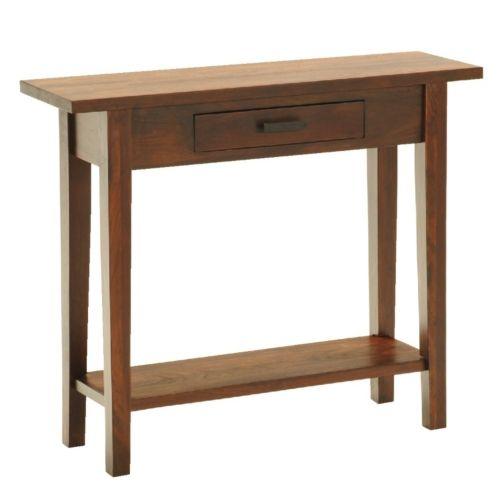 Katrina Foyer Table Hom Furniture Furniture Dark Wood