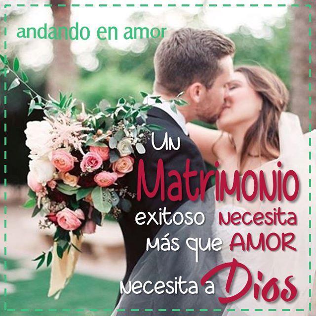 Matrimonios Exitosos Biblia : Un #matrimonio #exitoso debe estar asociado con dios. ten por seguro