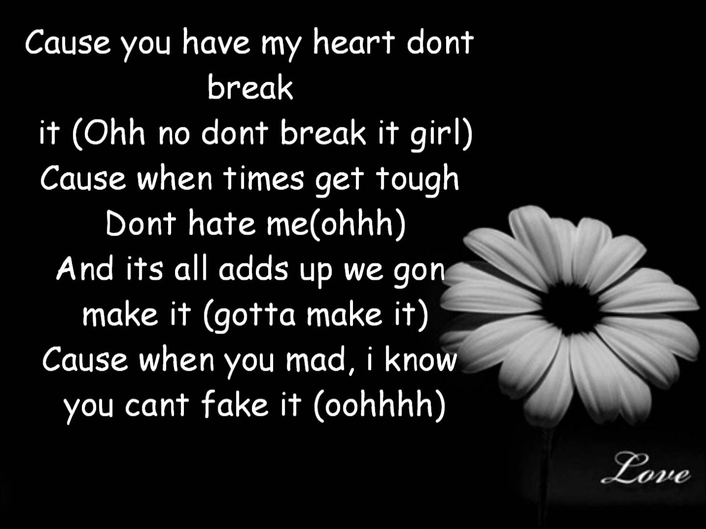 Love Dont Change Jeremih Lyrics Melody Pinterest Jeremih