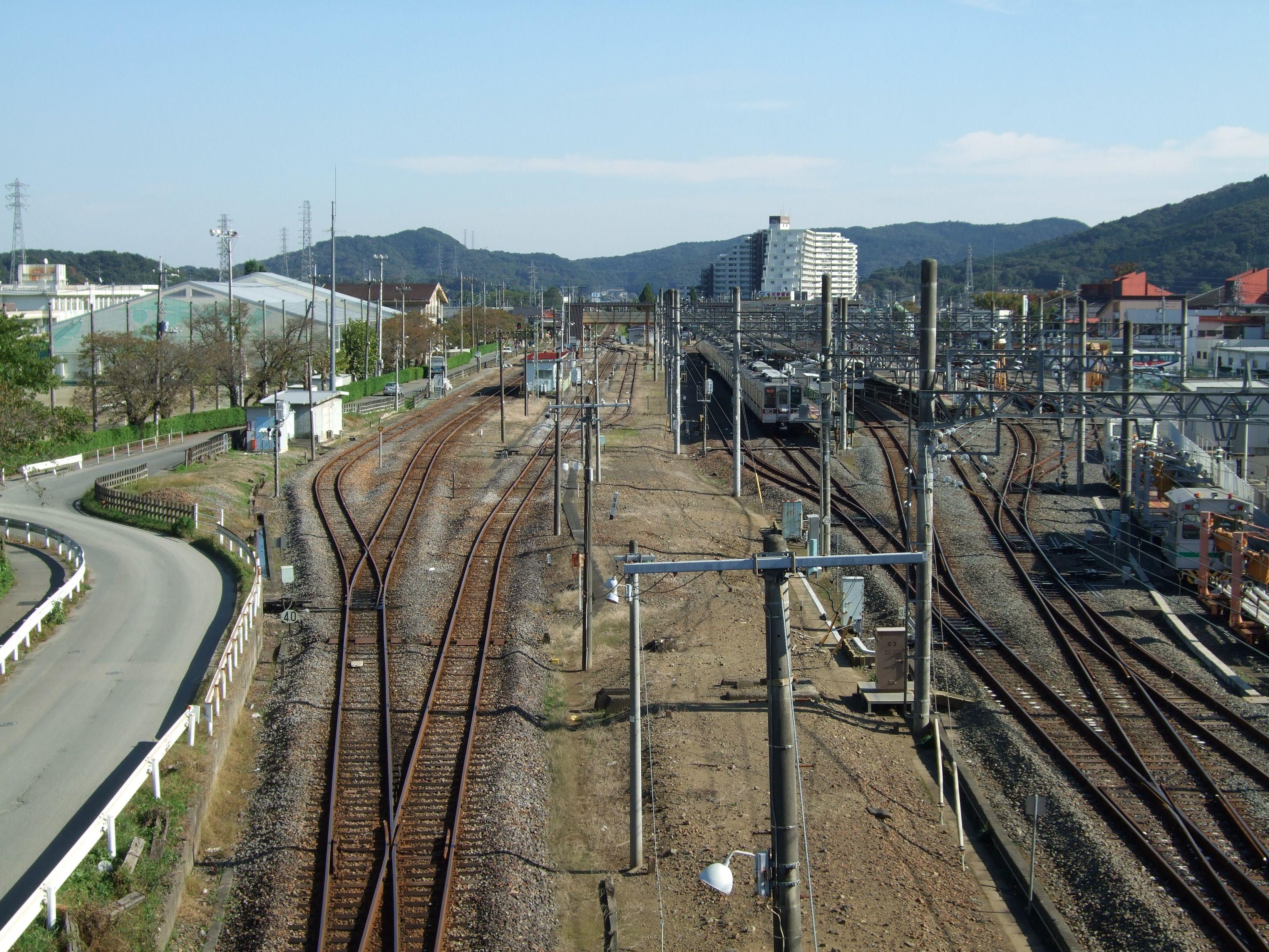 小川町駅陸橋