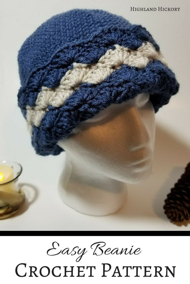 Wavy shells beanie free pattern shell and crochet crochet the wavy shells beanie for a quick easy beginner friendly gift or keep bankloansurffo Image collections
