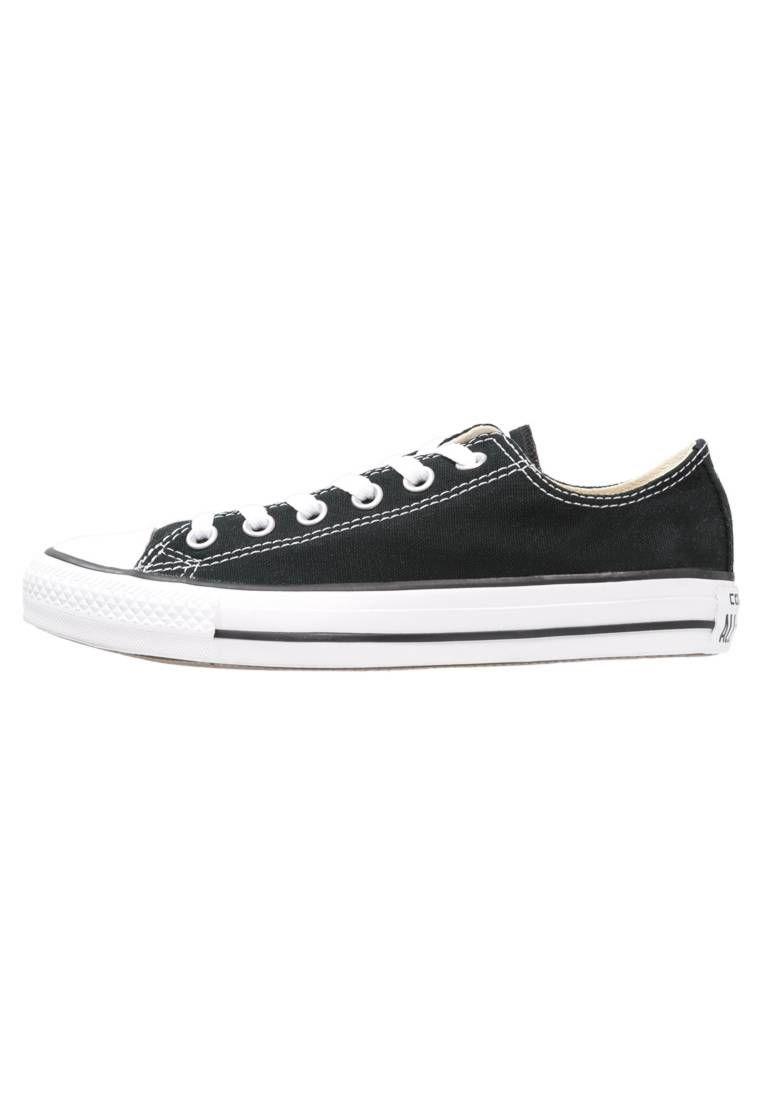 7e2fcde2f2b CHUCK TAYLOR ALL STAR - Zapatillas - black. Suela fibra sintética. Forma  del tacón plano. Plantilla tela. Puntera redonda. Detalle costura  decorativa.