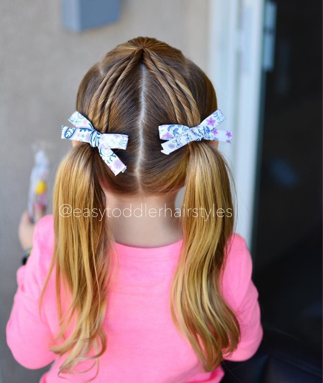 Twist Into Pigtails Girl Hair Dos Little Girl Hairstyles Girl Hairstyles