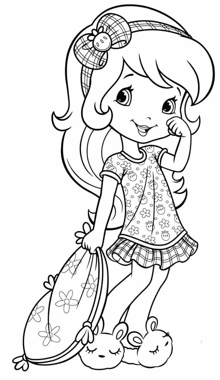 Strawberry Shortcake | spalvinimas | Pinterest | Coloring books ...