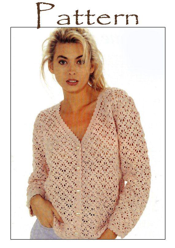 Crochet Pattern Summer Top PDF Vintage Style 70\'s | Crochet ...