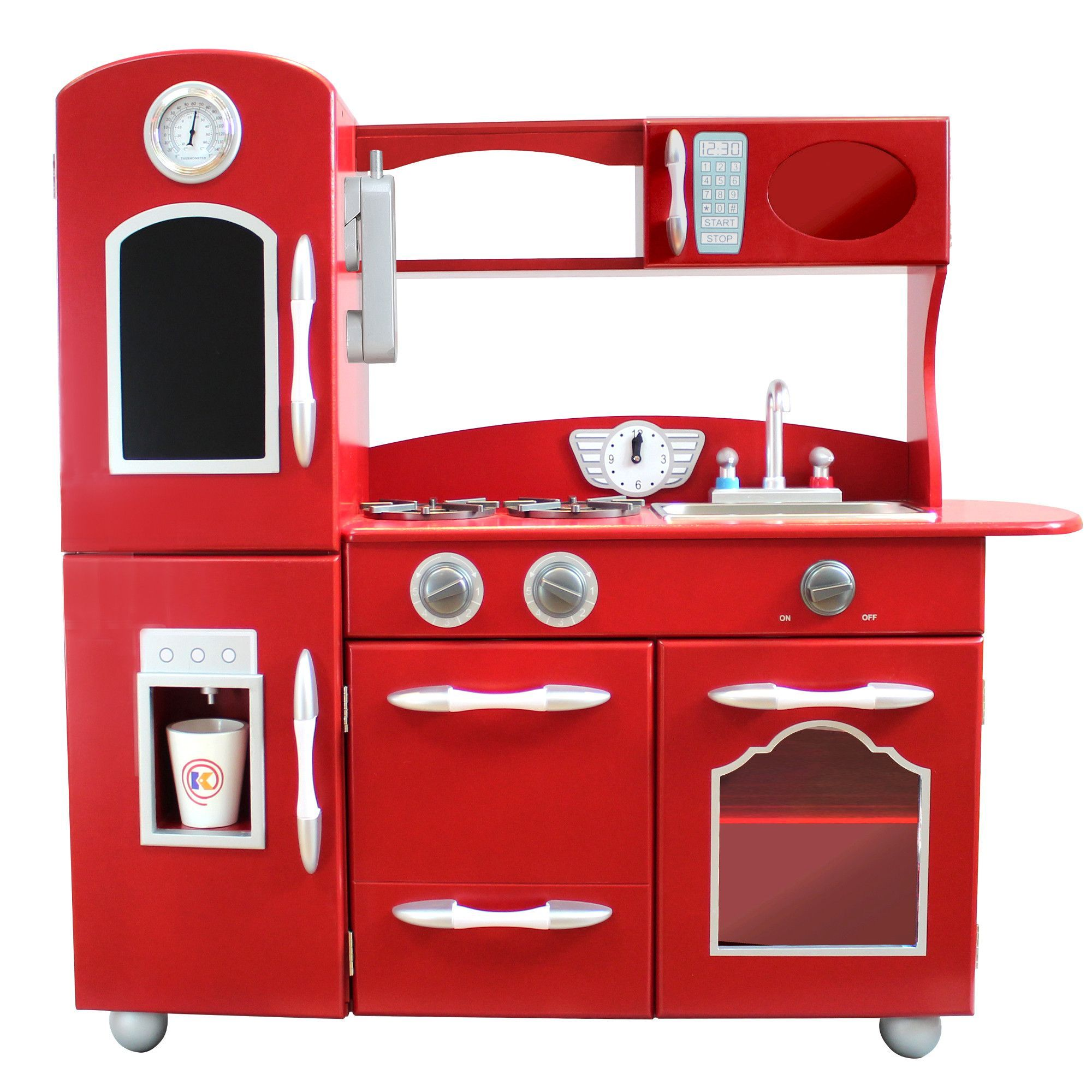 Wooden Play Kitchen Set Products Pinterest