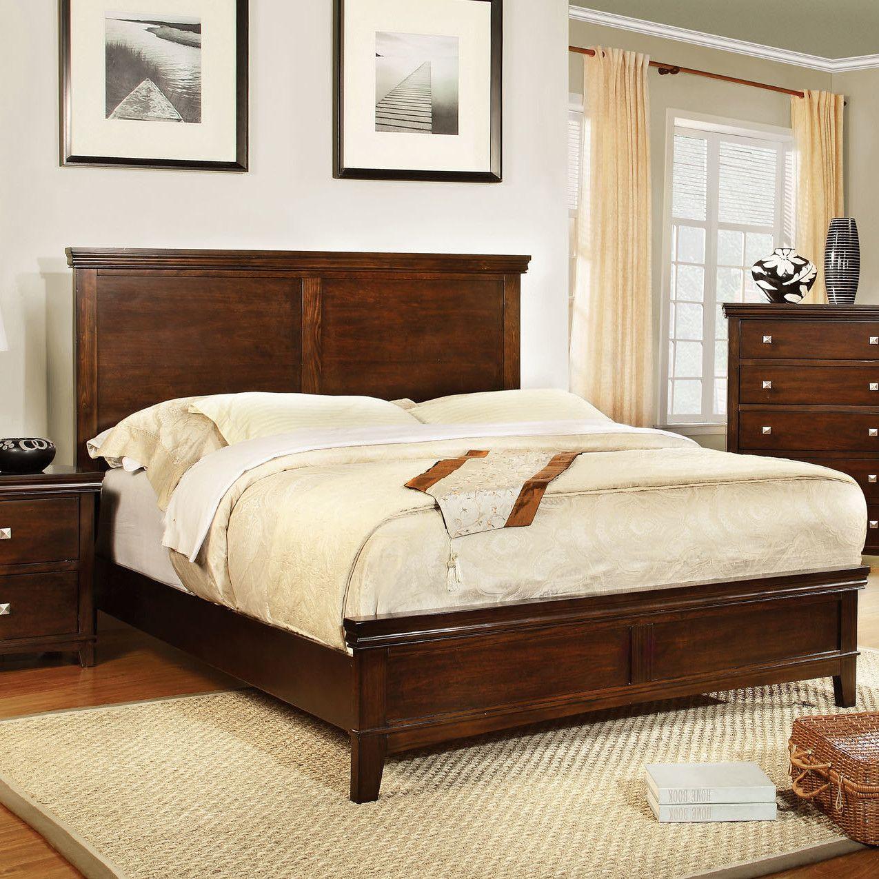 Awesome Hokku Designs Bellwood Panel Bed U0026 Reviews | Wayfair