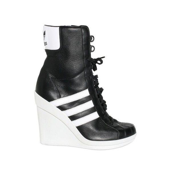Adidas Originals By Originals 90mm Jeremy Scott Leather Sneaker ...