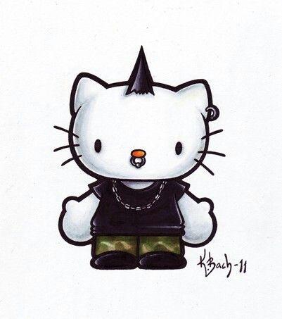Bad Kitty!     Hello kitty characters, Hello kitty cartoon ...