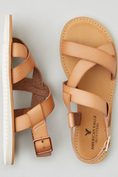 American Eagle Outfitters AEO Slingback Sandals | Sock shoes