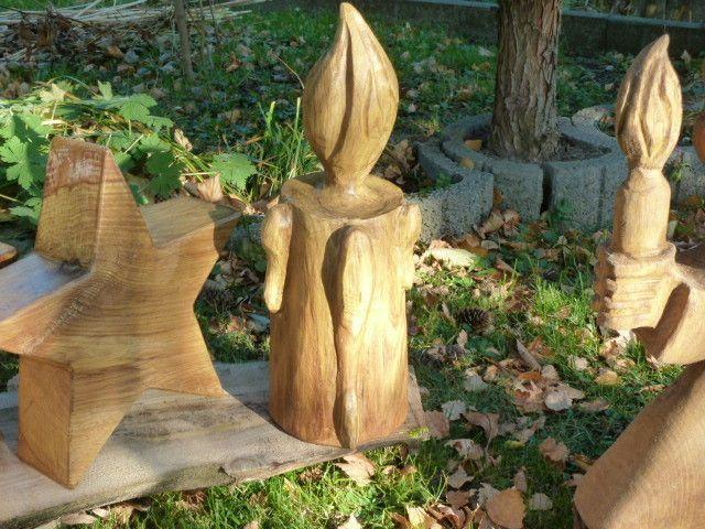 mit der Kettensäge,Chainsaw Carving , Dirk Rudolf, Bildhauerei - Weihnachtszeit