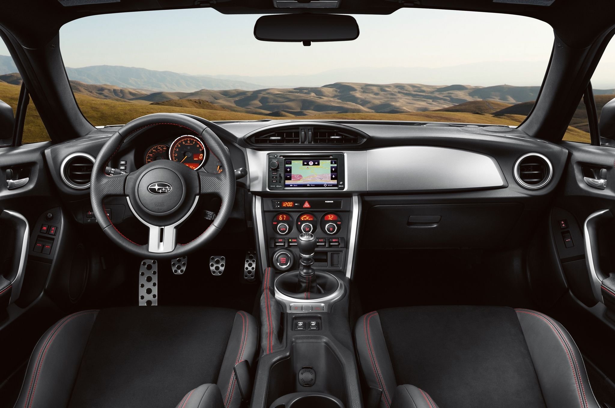 The 2014 Subaru Brz Interior Autos Y Interiores